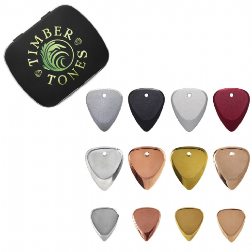 Metal Guitar Pick Collection